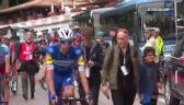 Zakrwawiony Dumoulin zajechał do autobusu