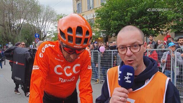 Kamil Gradek i Adam Probosz podsumowują 4. etap Giro