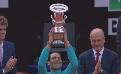 Rafael Nadal pokonał Novaka Djokovicia w finale w Rzymie