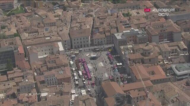 Najważniejsze momenty 10. etapu Giro d'Italia