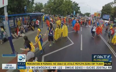 Pielgrzymi z całego świata w Krakowie