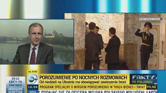 """""""Putin wysadził w powietrze cały porządek międzynarodowy"""""""