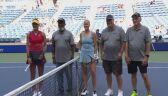 Skrót meczu Rogers - Raducanu w 4. rundzie US Open