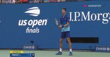 Piłka setowa na 2:0 dla Miedwiediewa w finale US Open