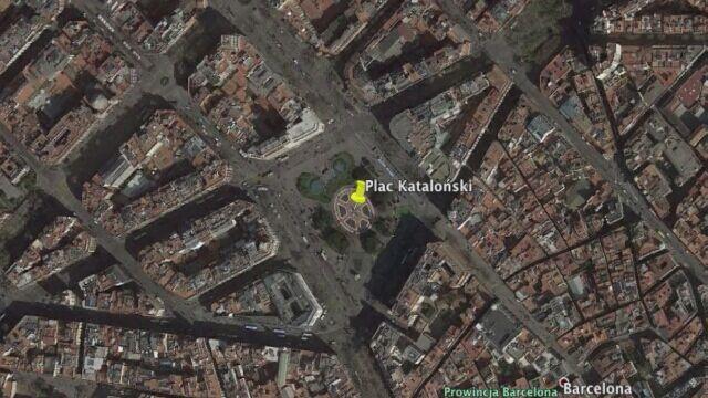 Furgonetka wjechała w ludzi w centrum Barcelony