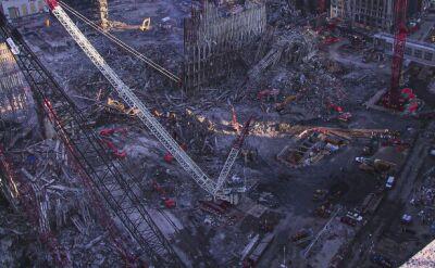 """Nieznane zdjęcia ze """"strefy zero"""" w Nowym Jorku"""