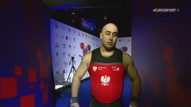 ME sztangistów: Arsen Kasabijew drugi w podrzucie w kat. 109 kg
