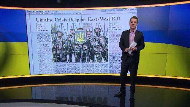 Co pisze prasa o sytuacji na Ukrainie?