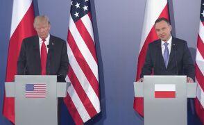Wystąpienie Andrzeja Dudy na konferencji na Zamku Królewskim
