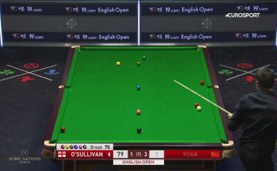 Świetne wbicie w wykonaniu O'Sullivana w drugiej rundzie English Open