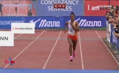 Azimeraw najszybsza w maratonie w Amsterdamie