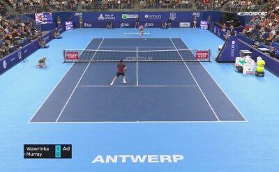 Skrót meczu Murray – Wawrinka
