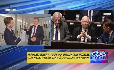 Tadeusz Cymański o umacniającej się frakcji Zbigniewa Ziobry