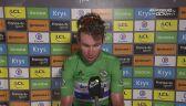 Mark Cavendish po wygraniu 13. etapu Tour de France
