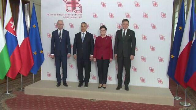 Premier Czech: Grupa Wyszehradzka nie ma wspólnego stanowiska w sprawie Tuska