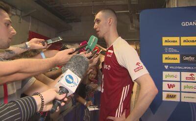 Maciej Muzaj po meczu z Francją