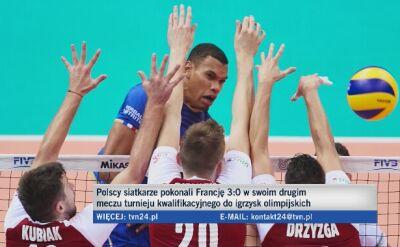 Polska - Francja 3:0. Kibice po meczu