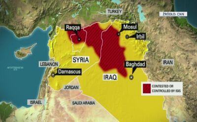 Pierwsze naloty USA na Syrię