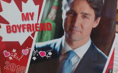 "Kalendarz ""Justin Trudeau, mój kanadyjski chłopak 2018"""