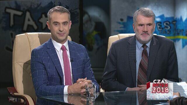 """Krzysztof Gawkowski i Piotr Strzembosz w """"Tak Jest"""""""