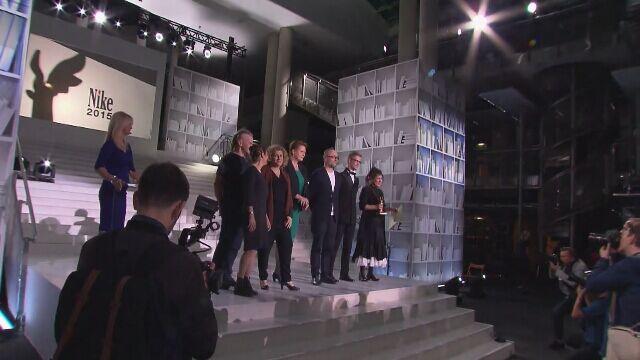 Olga Tokarczuk w 2015 roku zdobyła Nagrodę Literacką Nike (wideo archiwalne)