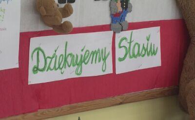 Szkoła w Osiecznej tęskni za Stasiem
