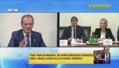 Tusk: stosując logikę komisji w sprawie GetBacku, Morawieccy powinni zostać przesłuchani, skazani i spaleni na stosie