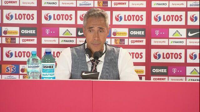 Sousa po meczu z Islandią