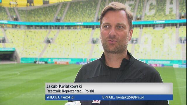 Jakub Kwiatkowski o ostatnich przygotowaniach do meczu ze Słowacją
