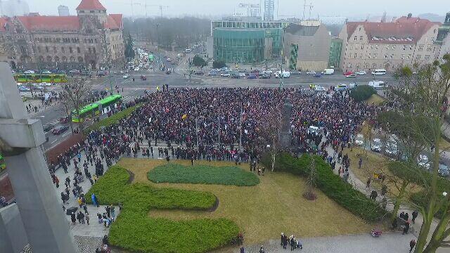Czarny Piątek w polskich miastach
