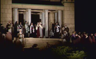 Tłumy oglądały Misterium Męki Pańskiej na poznańskiej Cytadeli
