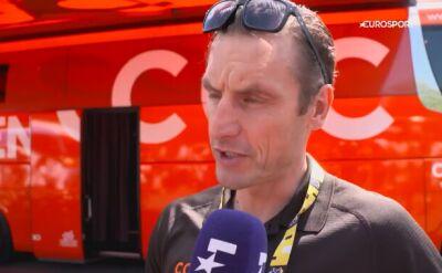Wadecki przed 9. etapem TdF: nie odpuścimy w walce o etapowy triumf