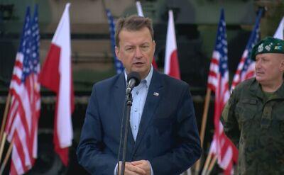 Mariusz Błaszczak: celem jest zwiększenie liczebności armii