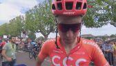 Łukasz Wiśniowski po 7. etapie Tour de France