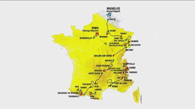 Profil 10. etapu Tour de France