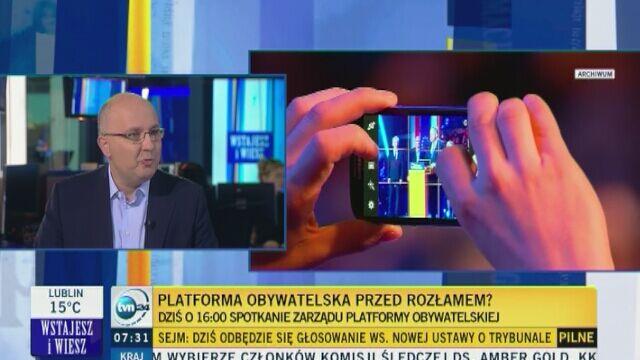 """""""Michał Kamiński nie powinien funkcjonować w polskiej polityce"""""""