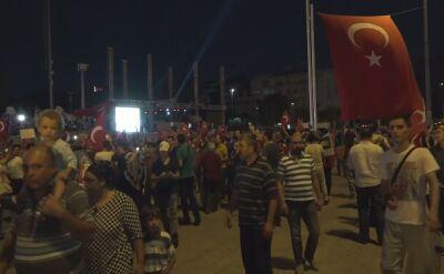 Kolejny wiec poparcia dla Erdogana. Setki osób na placu Taksim