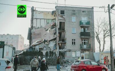Mieszkaniec o wybuchu
