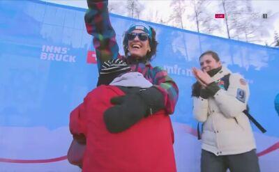 Szalona radość Killiana Peiera po wywalczeniu brązowego medalu MŚ