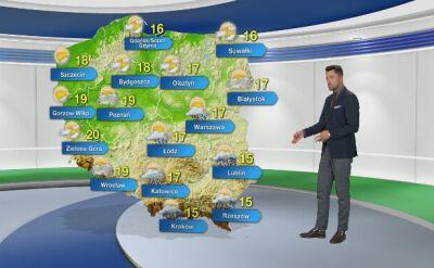 Prognoza pogody na lany poniedziałek
