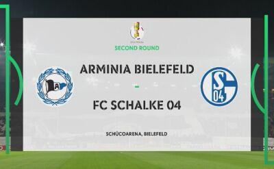 Skrót meczu Arminia - Schalke 04