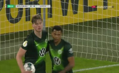 Gol na pocieszenie Weghorsta. Bolesna porażka Wolfsburga