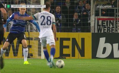 Pierwszy gol Schalke w meczu z Arminią