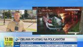 Obława po ataku na policjantów