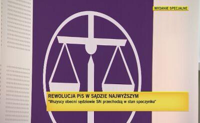 Giertych: po wejściu w życie tej ustawy kończy się demokracja i trójpodział władzy