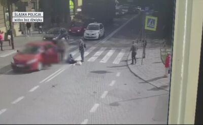 Potrącenie na pasach w Gliwicach