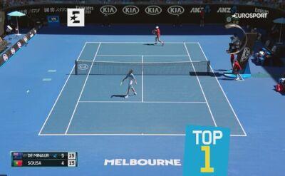 Najlepsze zagrania młodych zawodników w Australian Open