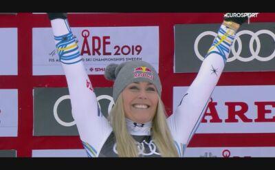 Ostatni medal mistrzostw świata w karierze Vonn