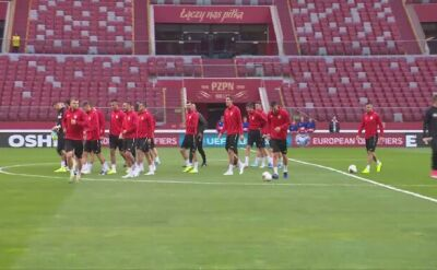 Macedończycy trenowali na Narodowym