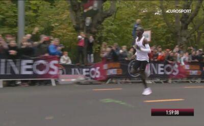 Eliud Kipchoge z najlepszym czasem w historii maratonu